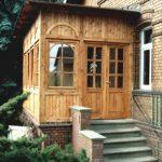 Pavillon Veranda aus Holz
