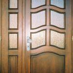 Holzpatina Tür