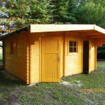 ein kleiner Gartenpavillon