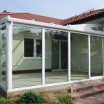 Winter Glasgarten