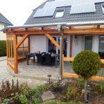 Dach / Holzterrasse