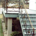 Geschmiedete Treppen Balustrade