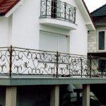 Balkon Verziert