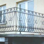 Terrassenbalustrade Verziert