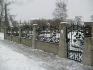 Zäune aus Metall