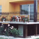 Terrassen Bruestungsgelaender
