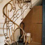 Profilierte Treppen Balustrade
