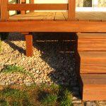 Holzterrasse Treppen
