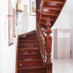 Treppen geschmückt Baluster